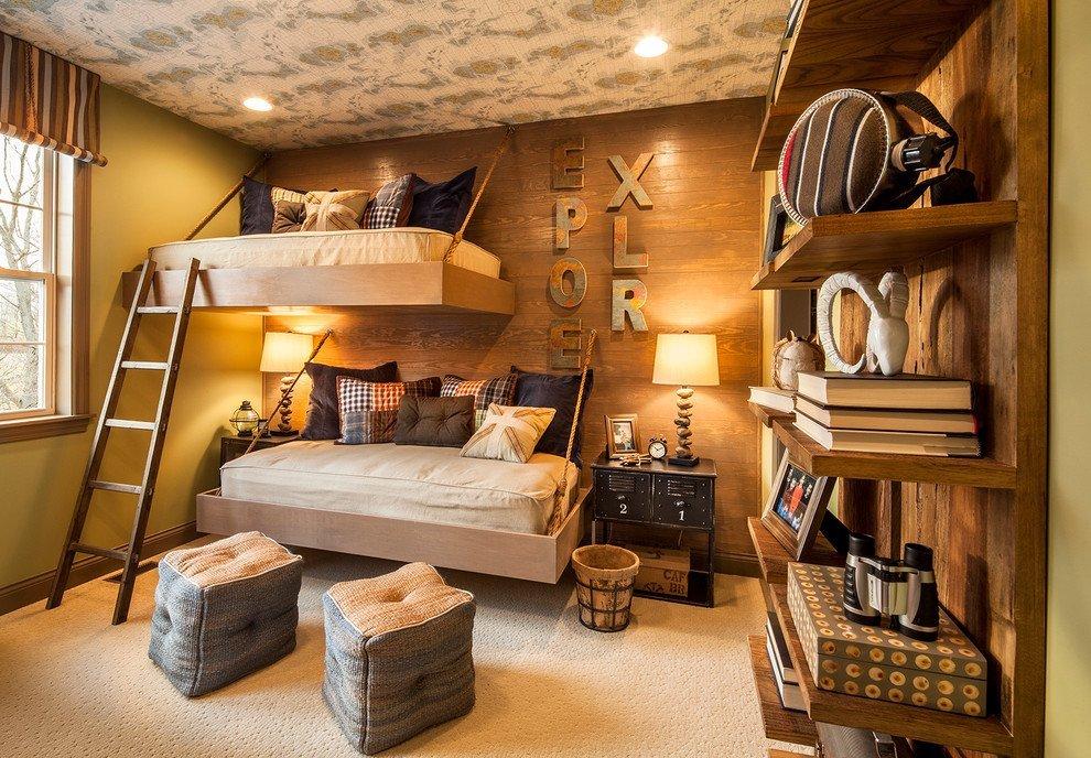 картинки оригинальных комнат